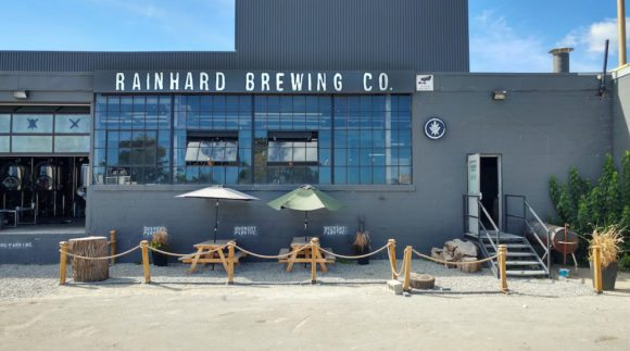 This is an image of Rainhard Brewing Co. on the Craft Beer Passport website. Get a $2 craft beer here using the Craft Beer Passport app!