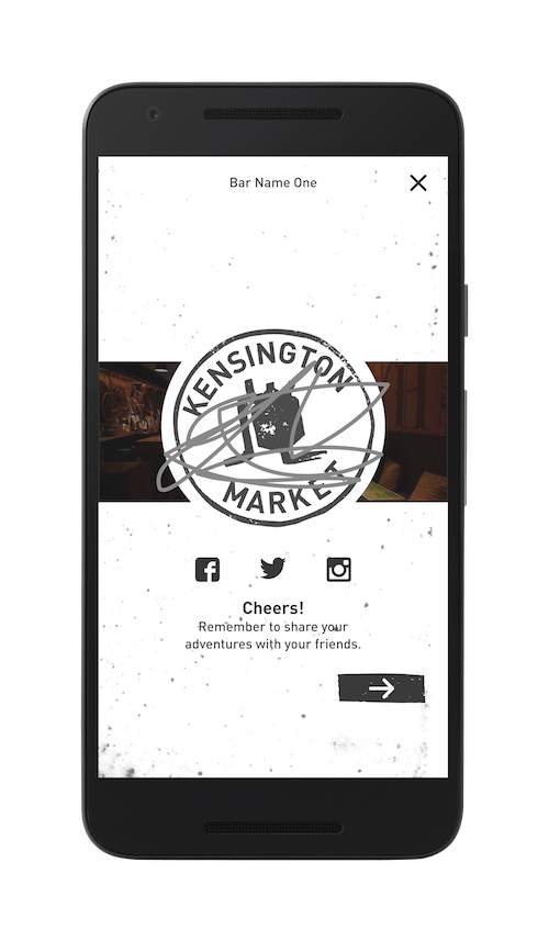 This is an image of the Stamp Demo on the Craft Beer Passport website. Get a $2 craft beer here using the Craft Beer Passport app!