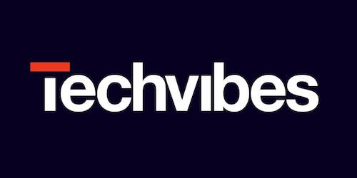 This is an image of the Tech Vibes logo. Get a $2 craft beer using the Craft Beer Passport app!