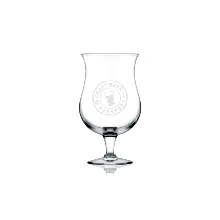 This is an image of the Craft Beer Passport branded glassware! Visit our Swag Shop to purchase one!