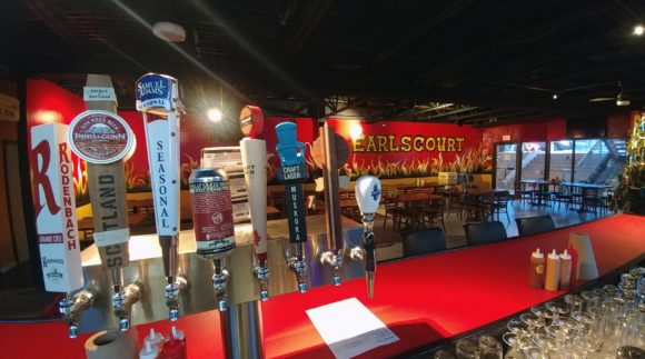 This is an image of the Earlscourt BBQ restaurant. Get a $2 craft beer here using the Craft Beer Passport app!
