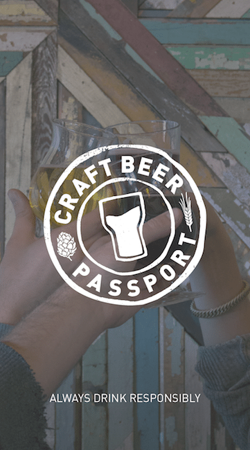 This Is An Image Of The Craft Beer Passport Splash Screen Get A  Craft