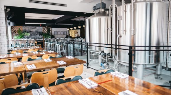 This is an image of The Six Brewhouse on the Craft Beer Passport website. Get a $2 craft beer here using the Craft Beer Passport app!