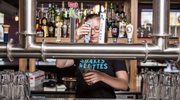 This is an image of the Snakes & Lattes College on the Craft Beer Passport website. Get a $2 craft beer here using the Craft Beer Passport app!