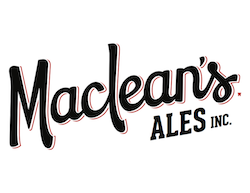 This is an image of MacLean's Ales Logo on the Craft Beer Passport website. Get a $2 craft beer using the Craft Beer Passport app!