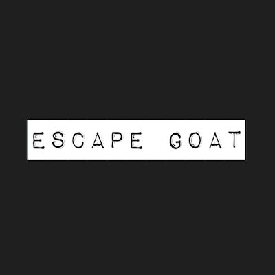 This is an image of Escape Goat's Logo. Get a $2 craft beer here using the Craft Beer Passport app!