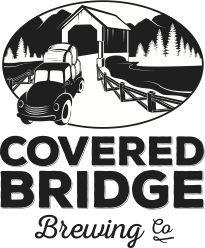 This is a photo of Covered Bridge Brewing's Logo. Get a $2 craft beer here with Craft Beer Passport app.