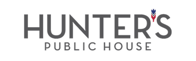 This is a photo of Hunter's Public House logo. Get a $2 craft beer here with Craft Beer Passport app.