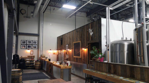 This is a photo of Stray Dog Brewing. Get a $2 craft beer here with Craft Beer Passport app.