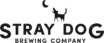 This is a photo of Stray Dog Brewing's Logo. Get a $2 craft beer here with Craft Beer Passport app.