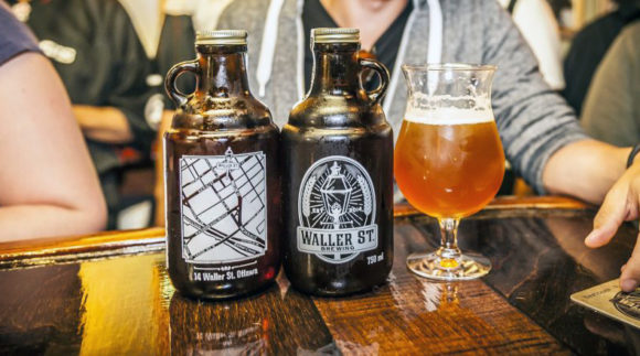 This is a photo of Waller Street Brewing. Get a $2 craft beer here with Craft Beer Passport app.