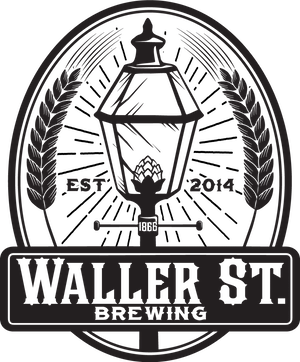 This is a photo of Waller Street Brewing's logo. Get a $2 craft beer here with Craft Beer Passport app.