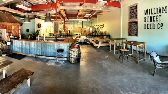 This is a photo of William Street Beer Co. taproom. Get a $2 craft beer here with Craft Beer Passport app.