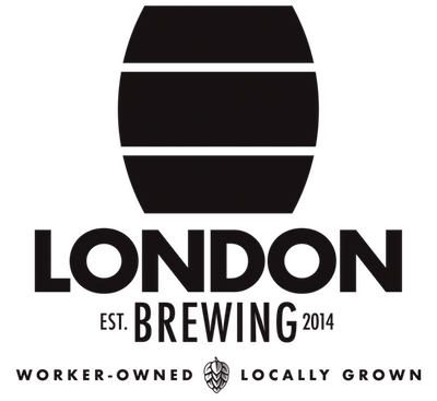 This is a photo of London Brewing Co-Op's logo. Get a $2 craft beer here with Craft Beer Passport app.