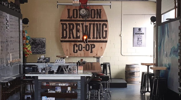 This is a photo of London Brewing Co-Op. Get a $2 craft beer here with Craft Beer Passport app.