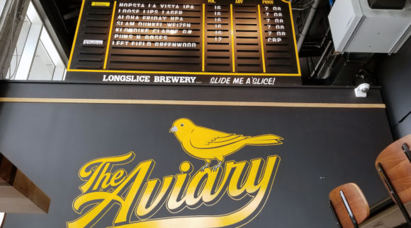 This is a photo of Longslice at the Aviary. Get a $2 craft beer here with Craft Beer Passport app.
