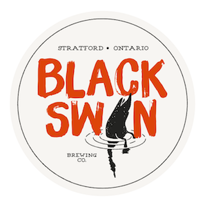 This is a photo of Black Swan Brewing's logo. Get a $2 craft beer here with Craft Beer Passport app.