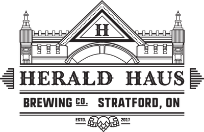 This is a photo of Herald Haus Brewing Co's Logo. Get a $2 craft beer here with Craft Beer Passport app.
