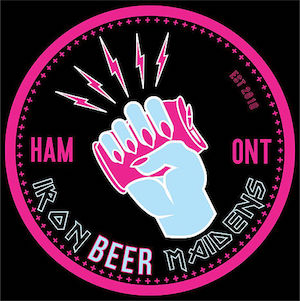 This is the Iron Beer Maidens Logo.