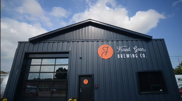 This is a photo of Fixed Gear Brewing Co. Get a $2 craft beer here with Craft Beer Passport app.