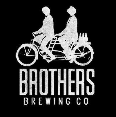 This is a photo of Brothers Brewing Company's logo. Get a $2 craft beer here with Craft Beer Passport app.
