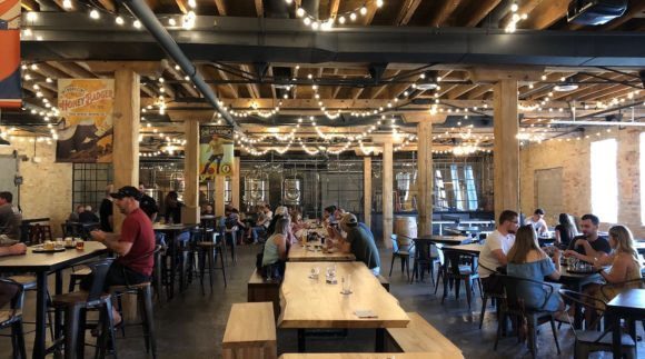 This is a photo of Four Fathers Brewing. Get a $2 craft beer here with Craft Beer Passport app.