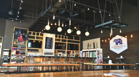 This is a photo of Market Brewing Company. Get a $2 craft beer here with Craft Beer Passport app.