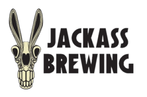 This is a photo of Jackass Brewing's logo. Get a $2 craft beer here with Craft Beer Passport app.