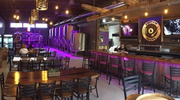 This is a photo of Rhythm & Brews Brewing. Get a $2 craft beer here with Craft Beer Passport app.