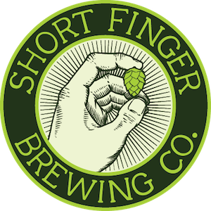 This is a photo of Four Short Finger Brewing's logo. Get a $2 craft beer here with Craft Beer Passport app.