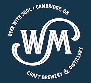 This is a photo of Wave Maker Brewery's logo. Get a $2 craft beer here with Craft Beer Passport app.