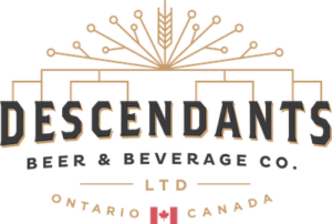 This is a photo of Descendants Beer's logo. Get a $2 craft beer here with Craft Beer Passport app.