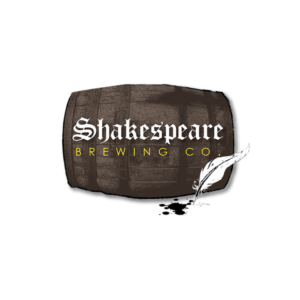 This is a photo of Shakespeare Brewing Co.'s logo. Get a $2 craft beer here with Craft Beer Passport app.