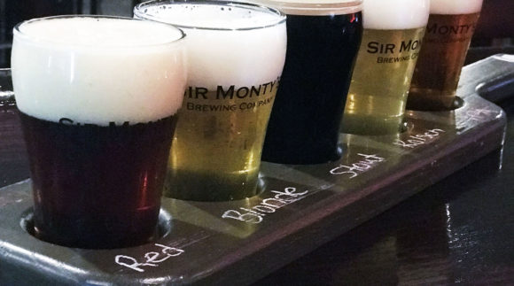 This is a photo of Sir Monty's Brewing Co. Get a $2 craft beer here with Craft Beer Passport app.
