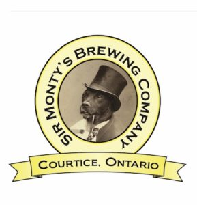 This is a photo of Sir Monty's Brewing Co's Logo. Get a $2 craft beer here with Craft Beer Passport app.