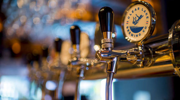 This is a photo of Clear Lake Brewing Co. Get a $2 craft beer here with Craft Beer Passport app.