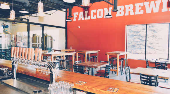 This is a photo of Falcon Brewing Co. Get a $2 craft beer here with Craft Beer Passport app.