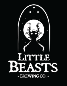 This is a photo of Little Beasts Brewing Co's Logo. Get a $2 craft beer here with Craft Beer Passport app.