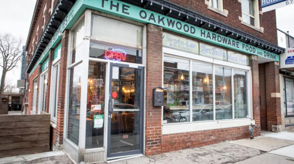 This is a photo of The Oakwood Hardware. Get a $2 craft beer here with Craft Beer Passport app.
