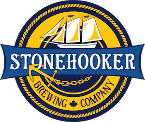 This is a photo of Stonehooker Brewing Co's Logo. Get a $2 craft beer here with Craft Beer Passport app.