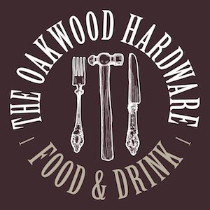 This is a photo of The Oakwood Hardware's Logo. Get a $2 craft beer here with Craft Beer Passport app.