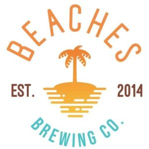 This is a photo of Beaches Brewing Co's logo. Get a $2 craft beer here with Craft Beer Passport app.