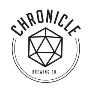 This is a photo of Chronicle Brewing Co.'s logo. Get a $2 craft beer here with Craft Beer Passport app.