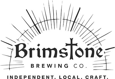 This is a photo of Brimstone Brewing Co.'s logo. Get a $2 craft beer here with Craft Beer Passport app.