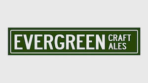 This is a photo of Evergreen Craft Ale's logo. Get a $2 craft beer here with Craft Beer Passport app.