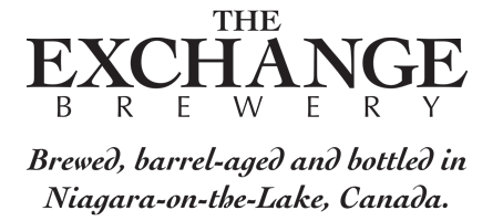 This is a photo of The Exchange Brewery's logo. Get a $2 craft beer here with Craft Beer Passport app.