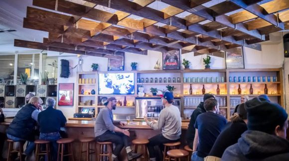This is a photo of Woodhouse Brewing Co. Get a $2 craft beer here with Craft Beer Passport app.