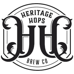 This is a photo of Heritage Brew Co's logo. Get a $2 craft beer here with Craft Beer Passport app.